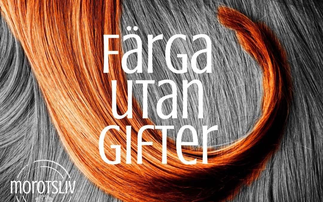 ljusa upp hennafärgat hår