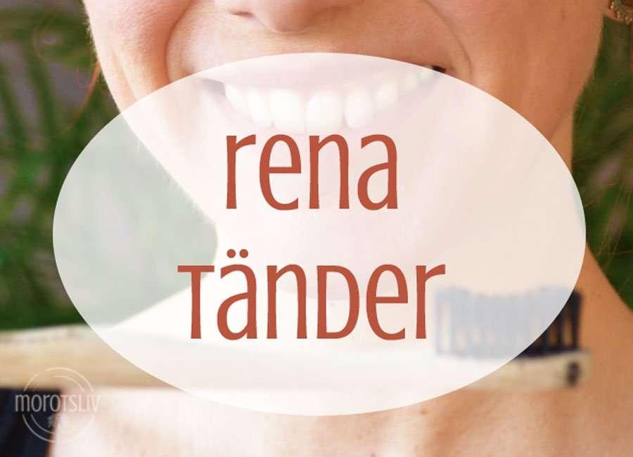 Allt du behöver veta för friska tänder utan gifter