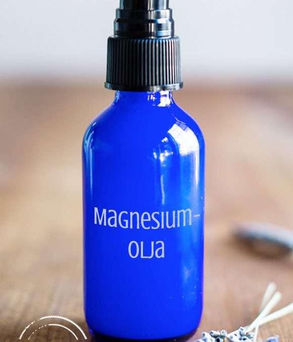 DIY – Avslappnande magnesiumolja