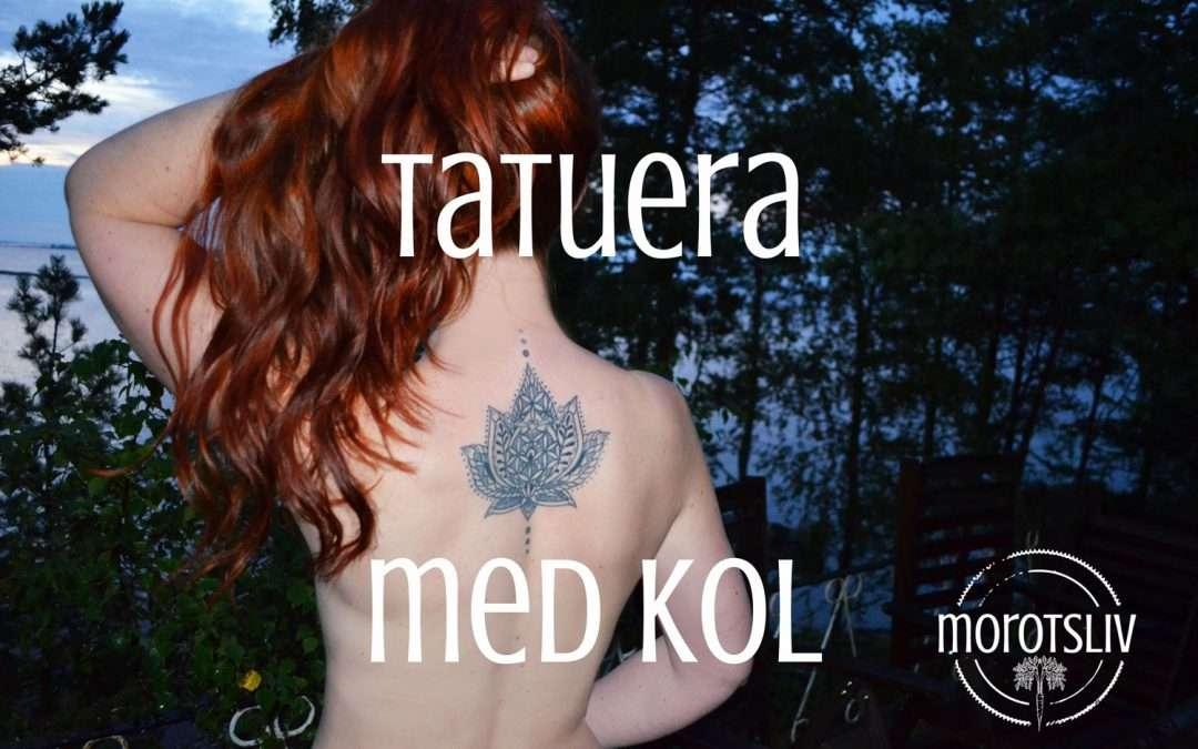 Tatueringar av kol