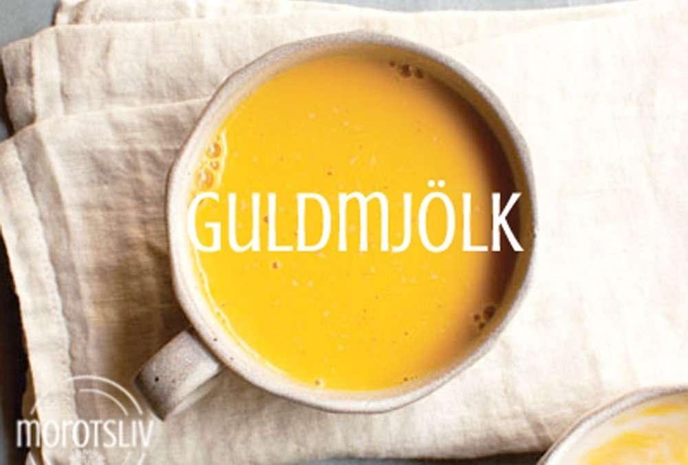 Gurkmejapasta och guldmjölk