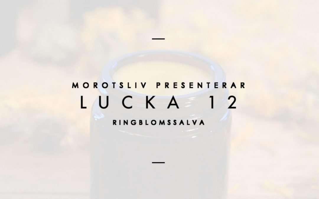 Lucka 12 Ringblomssalva