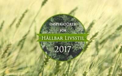 Inspiratör för hållbar livsstil 2017