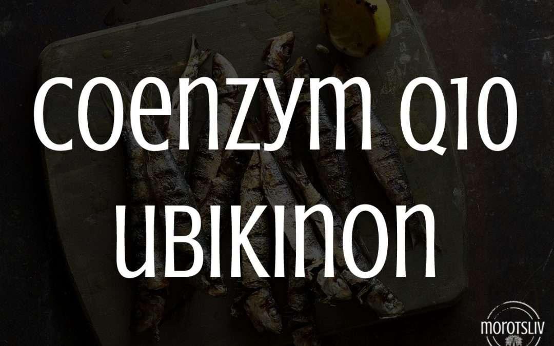 Coenzym Q10, ubikinon, vitamin Q