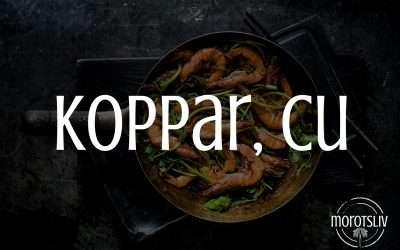 Koppar, Cu