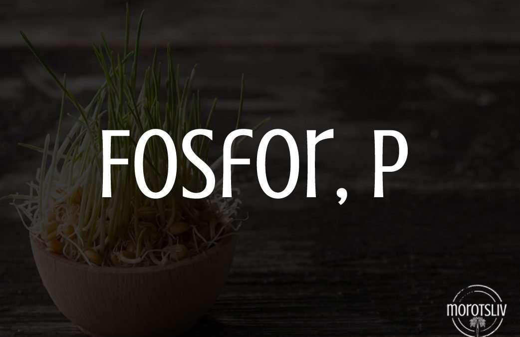 Fosfor, P