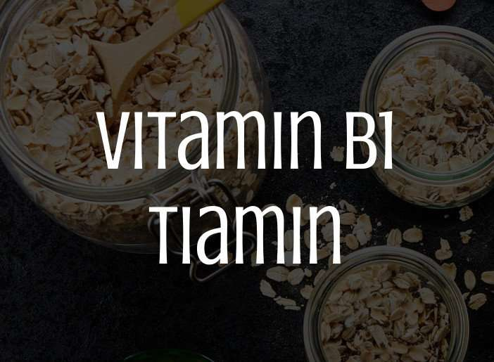 Vitamin B1, tiamin