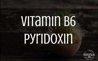 Vitamin B6, pyridoxin