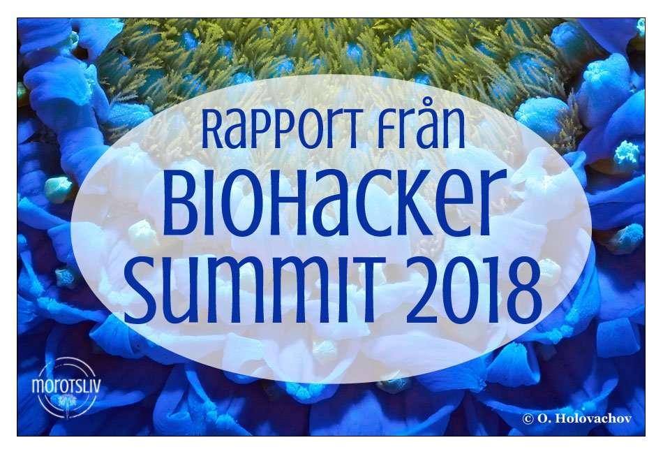 Rapport från Biohacker Summit 2018