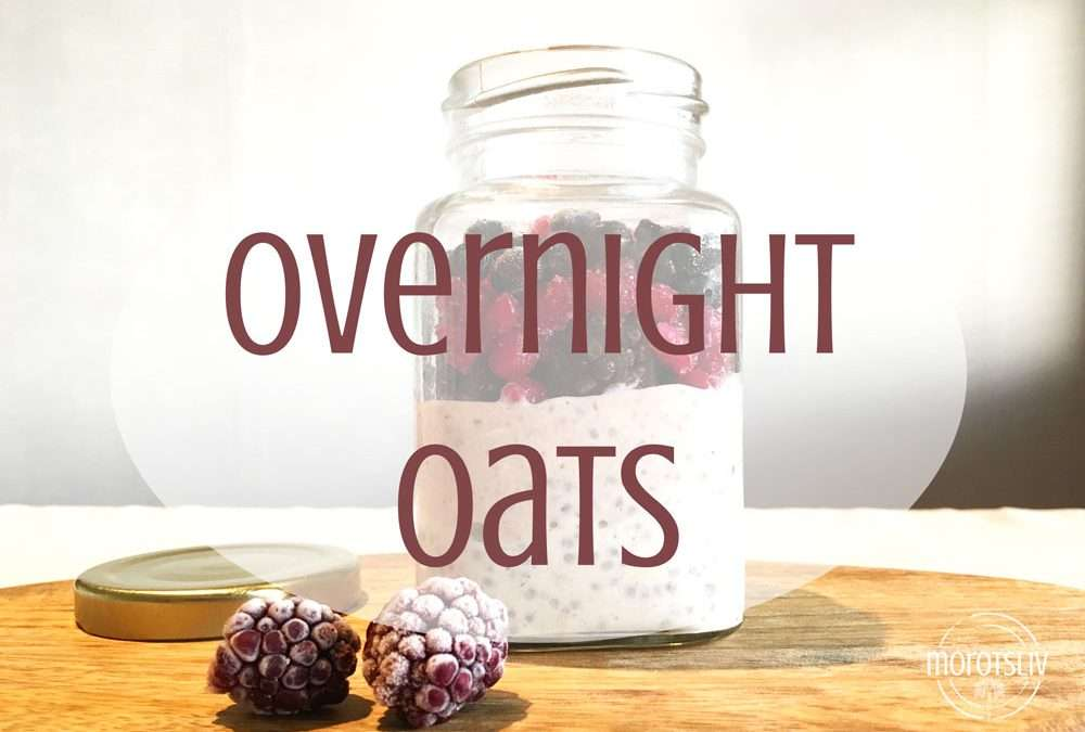 Overnight oats med lingon