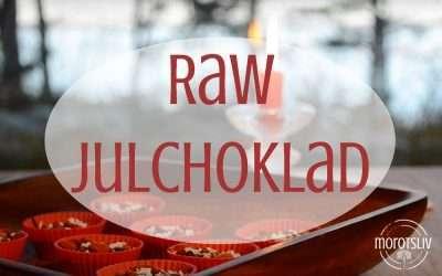 Lucka 3: Raw choklad