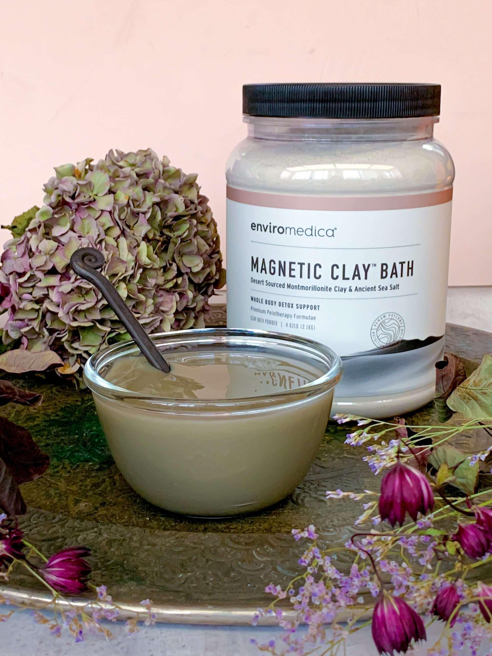 Magnetic Clay Bath