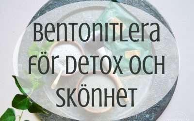 Bentonitlera för detox