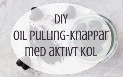 Gör egna oil pulling-knappar