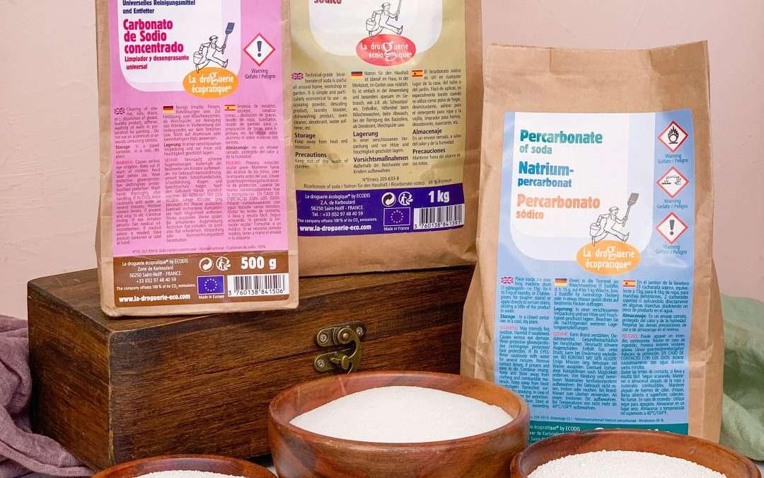 Vad är bikarbonat, karbonat, seskvikarbonat och perkarbonat egentligen?