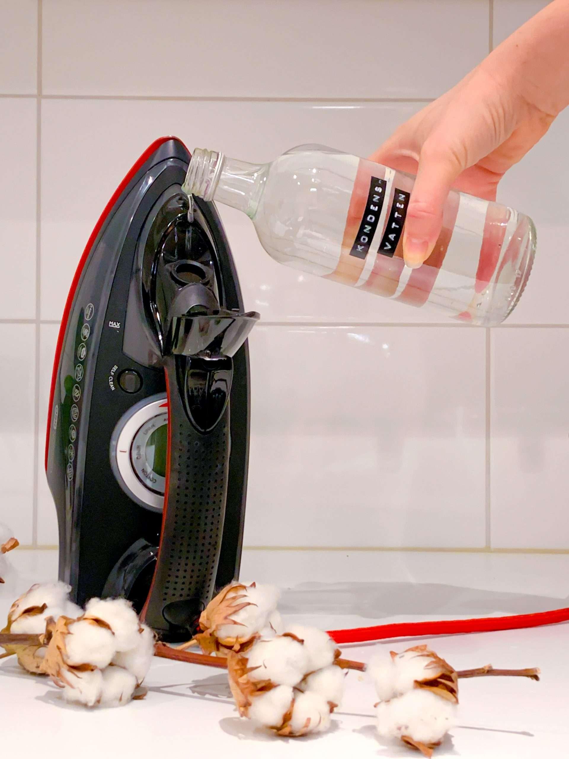 torktumlarens kondensvatten i ångstrykjärn