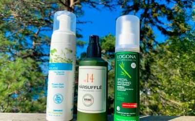 Recension av naturlig hårstyling